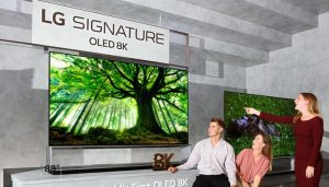 TV OLED 8K Pertama di Dunia.