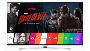 Tayangan Netflix di TV LG