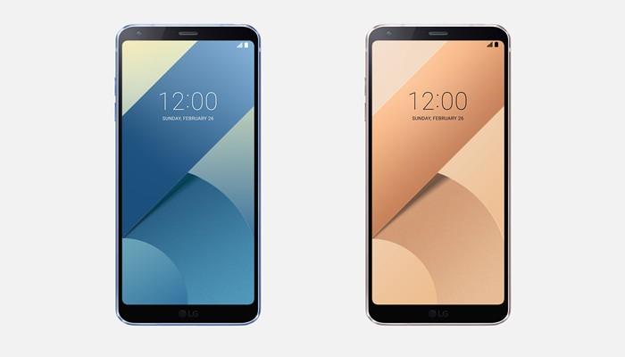 LG G6 Marine Blue & LG G6 Terra Gold