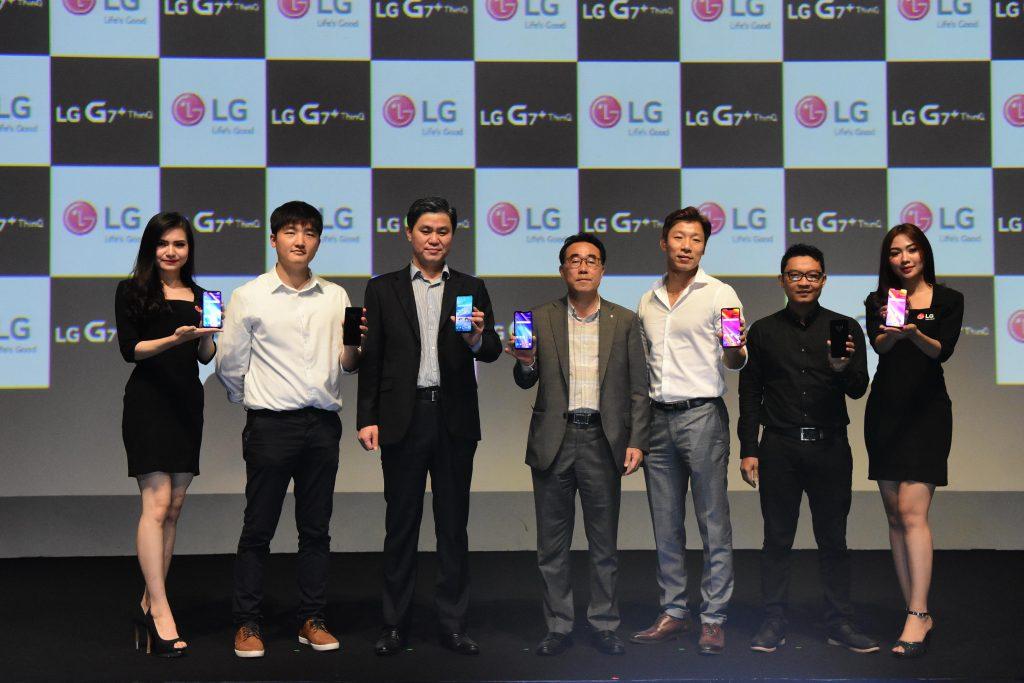 Debut & Pre-order LG G7+ThinQ